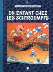 Les schtroumpfs - La collection (Hachette) -35- Un enfant chez les Schtroumpfs