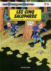 Les tuniques Bleues -21a1988- Les 5 salopards