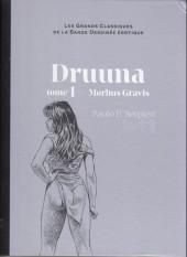 Les grands Classiques de la Bande Dessinée érotique - La Collection -2838- Druuna - Tome 1 Morbus Gravis