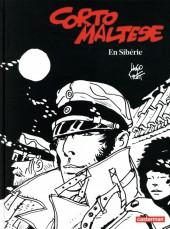 Corto Maltese (Noir et blanc relié) -6- En Sibérie