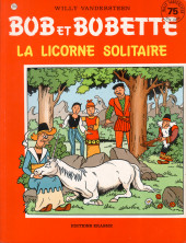 Bob et Bobette -214- La licorne solitaire