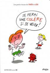 Les petits tracas de Théo & Léa -4- Je ferai une colère si je veux !