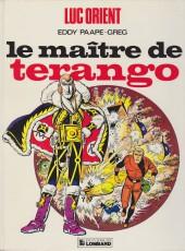 Luc Orient -3c84- Le maître de Terango