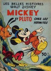 Les belles histoires Walt Disney (1re Série) -27- Mickey et Pluto chez les termites