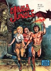 Télé série bleue (Les hommes volants, Destination Danger, etc.) -33- Djinga Jungle : La cité des vampires