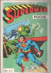 Superman (Poche) (Sagédition) -Rec20- Album Nouvelle Série N°2 (du n°57 au n°60)