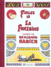 Les fables de La Fontaine (Rabier) - Fables de la fontaine