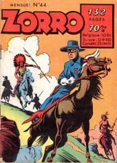 Zorro (2e Série - SFP puis SFPI) -44- Numéro 44