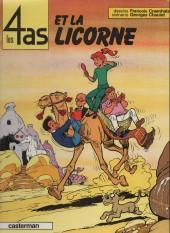 Les 4 as -18b1985- Les 4 as et la licorne
