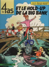 Les 4 as -22a86- Les 4 as et le hold-up de la big bank