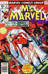Ms. Marvel (1977) -12- The warrior and the witch-queen!