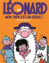 Léonard -48- Mon papa est un génie !