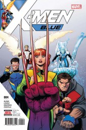 X-Men: Blue (2017) -4- Issue #4