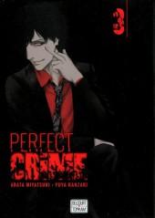 Perfect crime -3- Tome 3