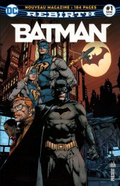 Batman Rebirth (DC Presse) -1- Le retour de Batman !