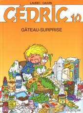 Cédric -10b00- Gâteau-surprise