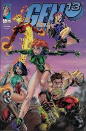 Gen13 (1995) -1A- Among Friends and Enemies !