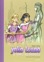 Yoko Tsuno -28TL- Le temple des immortels - Esquisse d'une œuvre