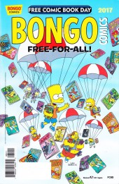 Bongo Comics Free-For-All! - Tome 2017FCBD