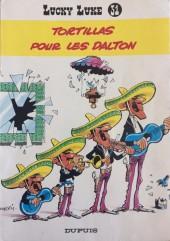 Lucky Luke -31a79- Tortillas pour les Dalton