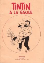 Tintin - Pastiches, parodies & pirates - Tintin a la gaule