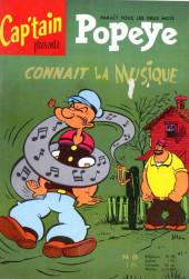 Popeye (Cap'tain présente) (Spécial) -8- Popeye connaît la musique
