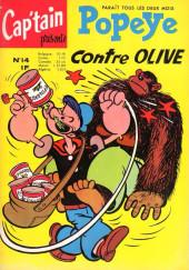 Popeye (Cap'tain présente) (Spécial) -14- Popeye contre Olive