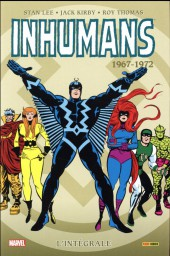 Inhumans (L'intégrale) -1INT- L'intégrale 1967-1972