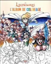 Les légendaires -HS2- L'Album de coloriage
