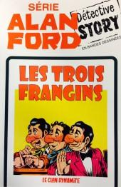 Alan Ford (Coffre à BD) -21- LES TROIS FRANGINS