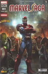 Marvel Saga (4e série - 2017) -1- Les plus combatifs héros de la terre