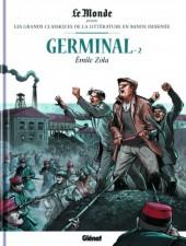 Les grands Classiques de la littérature en bande dessinée -13- Germinal - 2