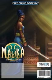 Free Comic Book Day 2017 - Malika Warrior Queen