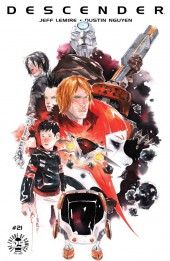 Descender (Image comics - 2015) -21- Orbital Mechanics: Part 5 of 5