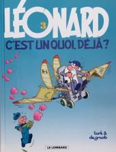 Léonard -3e2002- Léonard, c'est un quoi, déjà ?