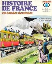 Histoire de France en bandes dessinées -18a- La restauration, louis philippe