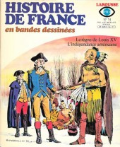 Histoire de France en bandes dessinées -14b- Louis xv, l'indépendance américaine