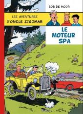 Oncle Zigomar (Les aventures d') -8- Le moteur spa