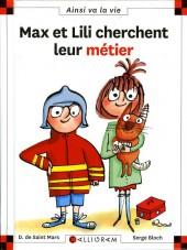 Ainsi va la vie (Bloch) -112- Max et Lili cherchent leur métier