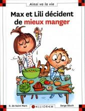 Ainsi va la vie (Bloch) -114- Max et Lili décident de mieux manger