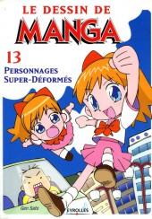 (DOC) Le Dessin de Manga -13- Personnages Super-Déformés