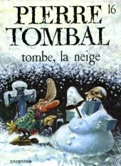 Pierre Tombal -16a07- Tombe, la neige