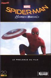 Spider-Man Hors Série (Panini Comics, 3e série) -1- Spider-Man Homecoming - Le Prologue du film
