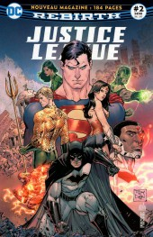 Justice League Rebirth (DC Presse) -2- Tome 2