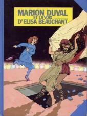 Marion Duval -2- et la voix d'Elisa Beauchant