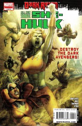 Couverture de All New Savage She-Hulk (2009) -4- Born To Rage