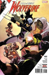 All-New Wolverine (2016) -22- Hive Part 1 Of 3