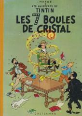 Tintin (Historique) -13B28- Les 7 boules de cristal