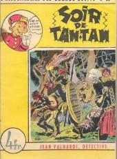 L'hebdomadaire des grands récits -55- Jean Valhardi détective: Soir de tam-tam