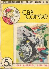 L'hebdomadaire des grands récits -38- Jean Valhardi détective: Cap corse